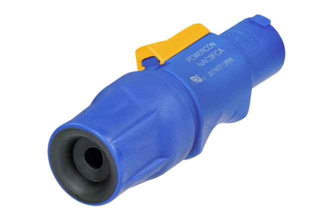 Neutrik NAC3FCA AC Power Connector Blue - A