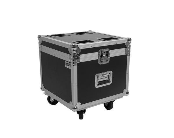 OSP PAR-CASE-4 Universal ATA Flight Case for 4 LED PAR CANS