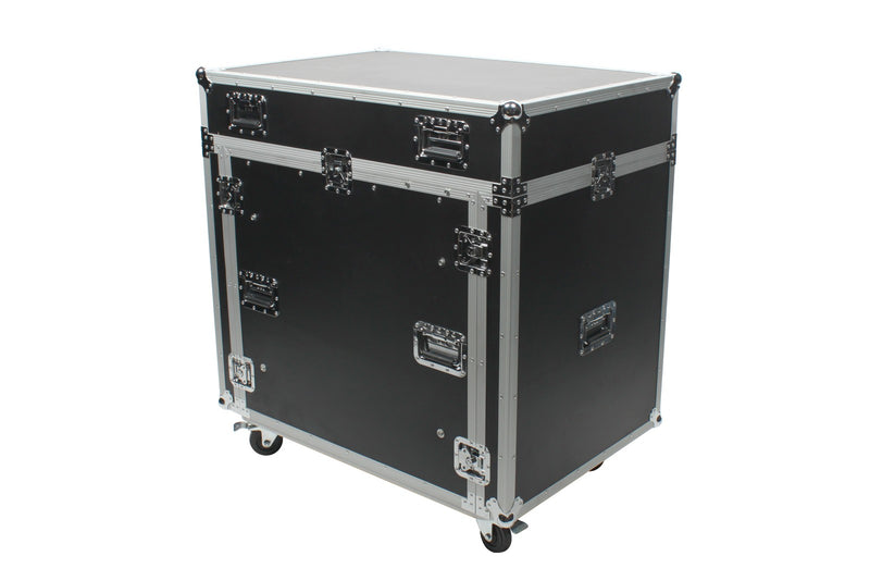 OSP PRE-2442-COMBO Combo Case for PreSonus 2442 with Rack Space and Doghouse