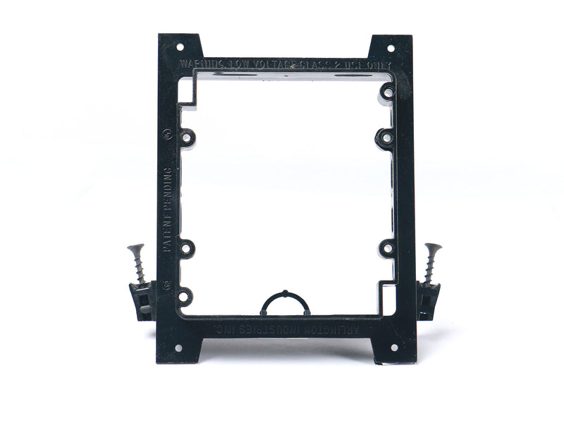 Elite Core Q-1-UMB-NC Double Gang Low Voltage Universal Mounting Bracket for New Construction