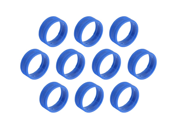 SuperFlex GOLD SFC-BAND-BLUE-10PK Colored ID Rings