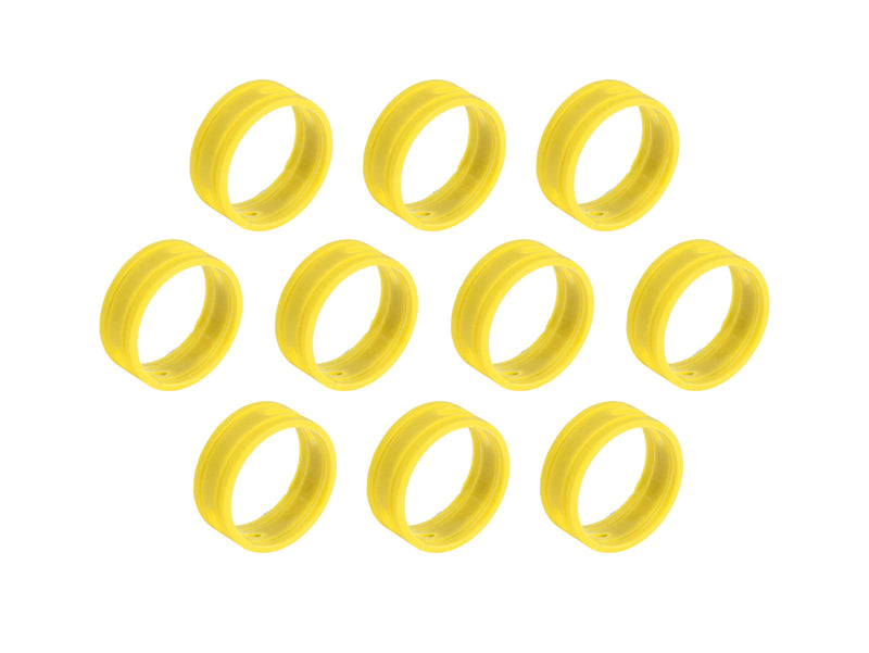 SuperFlex GOLD SFC-BAND-YELLOW-10PK Colored ID Rings