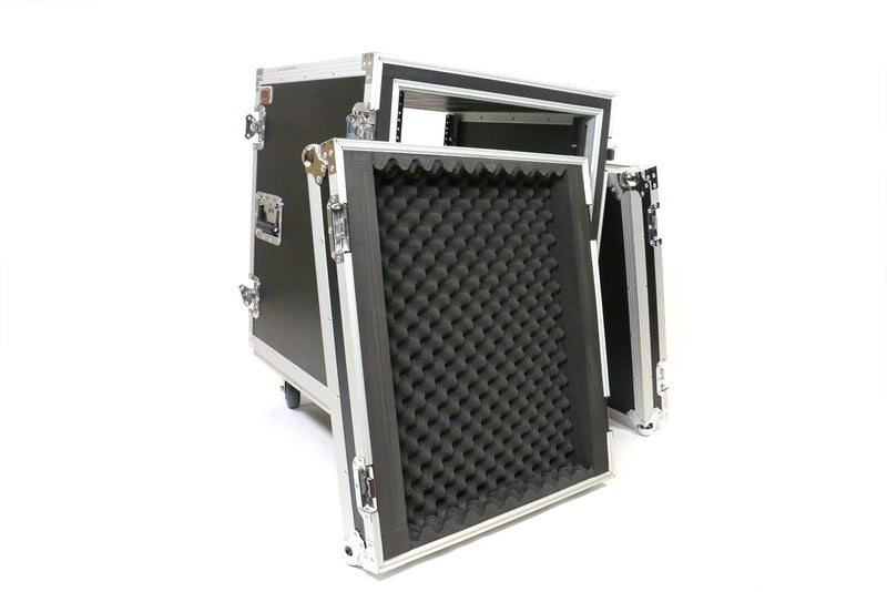OSP SS12U-20 12 Space ATA Spring Shock Pro Amp Rack w/Casters