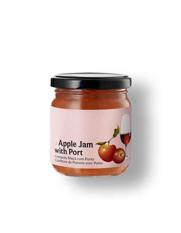 Apple Jam with Port