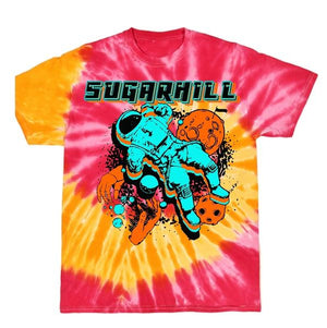 Space Puppet Tee (Tropical Tie-Dye)