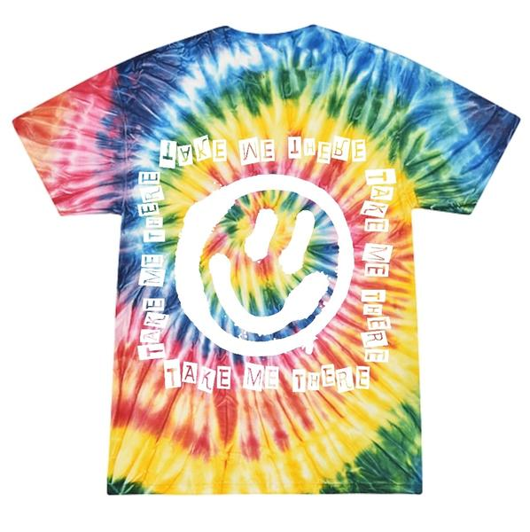 Triple Kill Tee (Rainbow Ice Tie-Dye)
