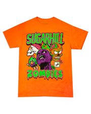 ZOMBIES SAFETY ORANGE TEE