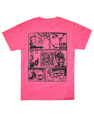 REPTILES SAFETY PINK TEE