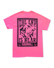 SCARED SAFETY PINK TEE