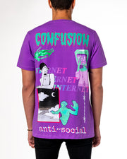 ANXIETY PURPLE TEE