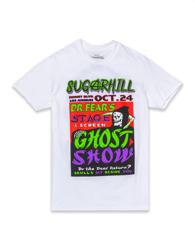 WHITE GHOST SHOW TEE