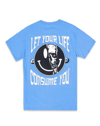 CAROLINA BLUE HEARTLESS EARTH TEE