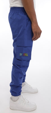 Blaine Cargo Pants (Royal)