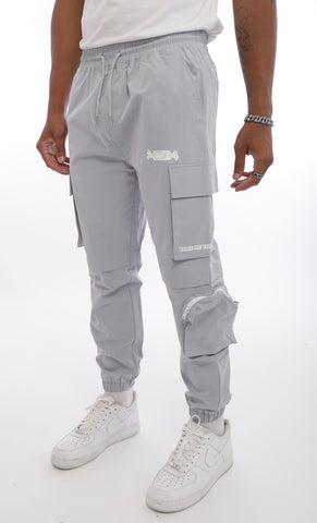 Blaine Cargo Pants (Grey)