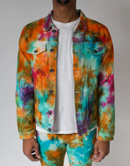 Crunch Berry Denim Jacket