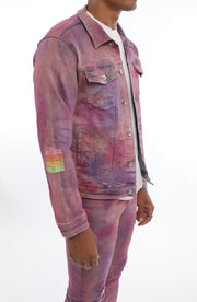Jelly Bean Denim Jacket
