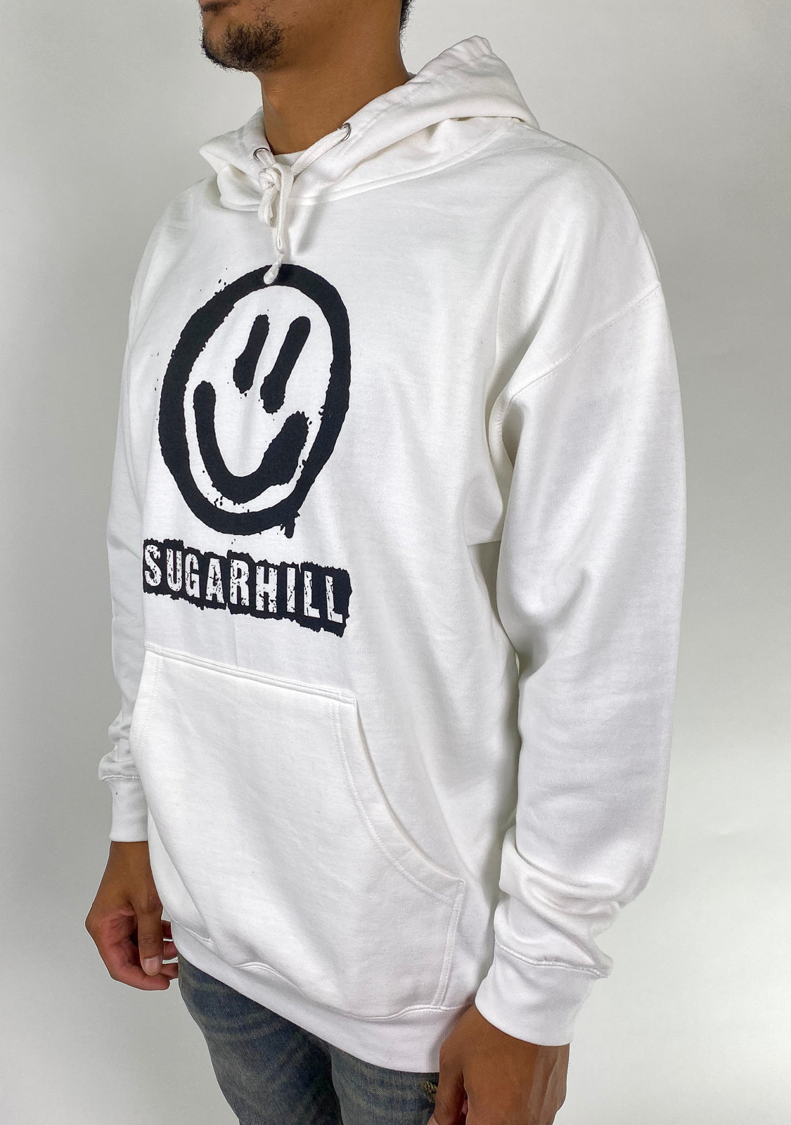Space Puppet Hoodie (White)