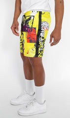 HYBRID CABANA SHORTS (YELLOW)