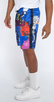 HYBRID CABANA SHORTS (ROYAL)