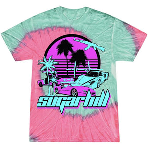 MIAMI NIGHTS STRAWBERRY MINT T-SHIRT