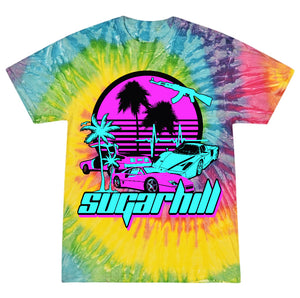 MIAMI NIGHTS PSYCHEDELIC POP T-SHIRT