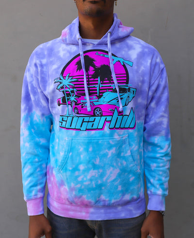 MIAMI NIGHTS COTTON CANDY HOODIE