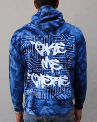 MIAMI NIGHTS NAVY BURST HOODIE