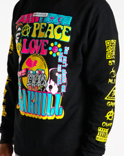 HIPPIE CREWNECK (BLACK)