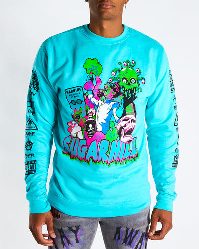 MAD SCIENTIST CREWNECK (MINT)