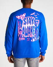 HIPPIE CREWNECK (ROYAL BLUE)