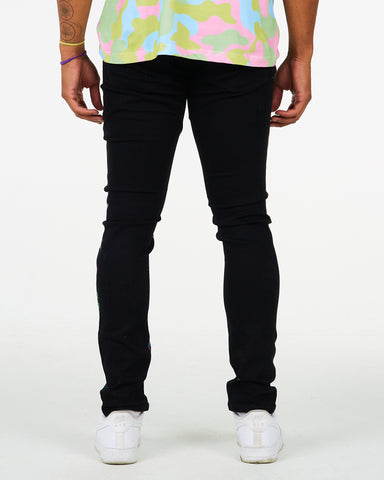 STATUE PRINTED JEANS