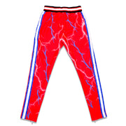 TRIPPY TRACK PANTS (RED/BLUE)