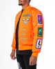 ORANGE MUTANT BOMBER JACKET