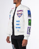 WHITE MUTANT BOMBER JACKET