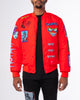 RED MUTANT BOMBER JACKET