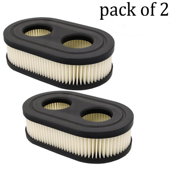 2 Briggs & Stratton air filters replaces 500-550 E & EX Series 798452
