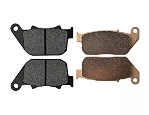 BRAKE PADS FITS KTM 50SX SX50 2006-2016 FRONT REAR MOTORCYCLE PADS