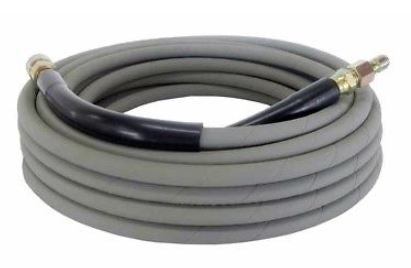 NM Pressure Washer Hose - 4000 PSI 50 ft. Length 50' Gray W/ Couplers