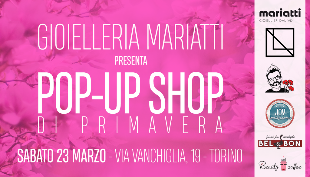 Galleria foto Pop-Up Shop di Primavera