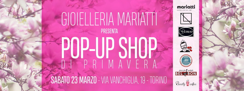 Pop-up-shop di Primavera
