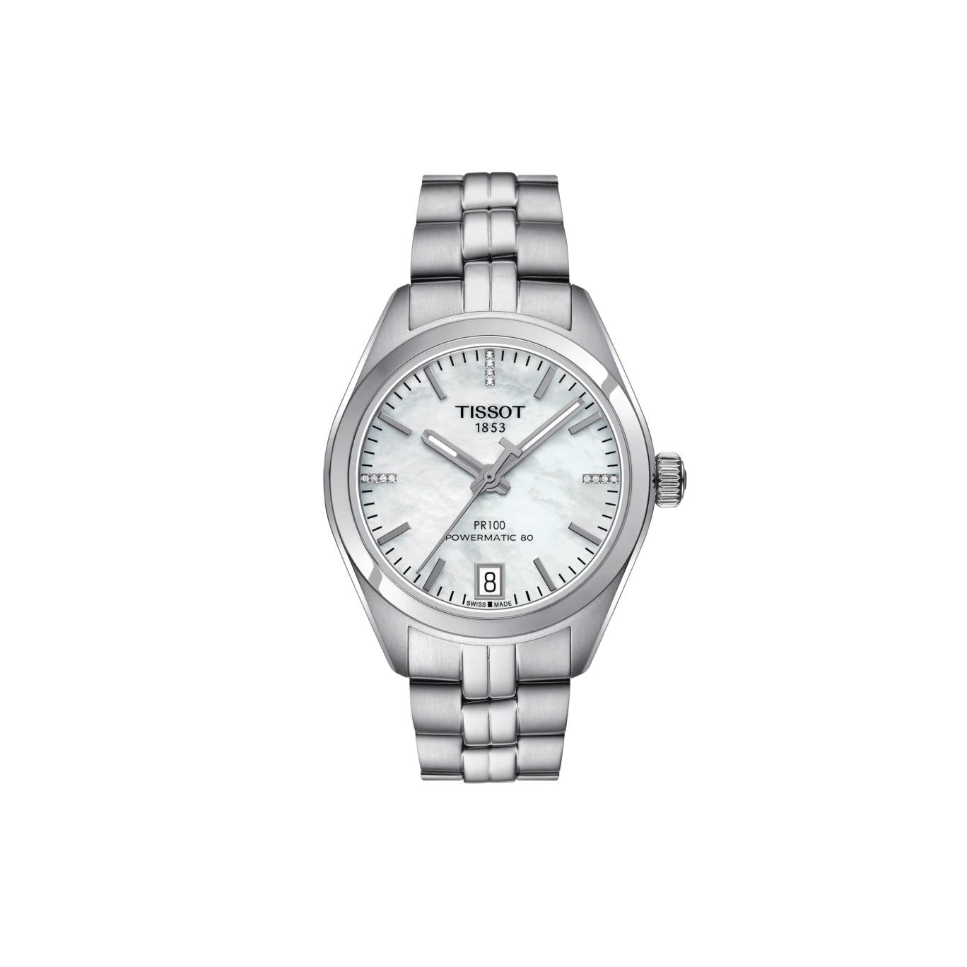 Orologio PR 100 Powermatic 80 Lady Diamond