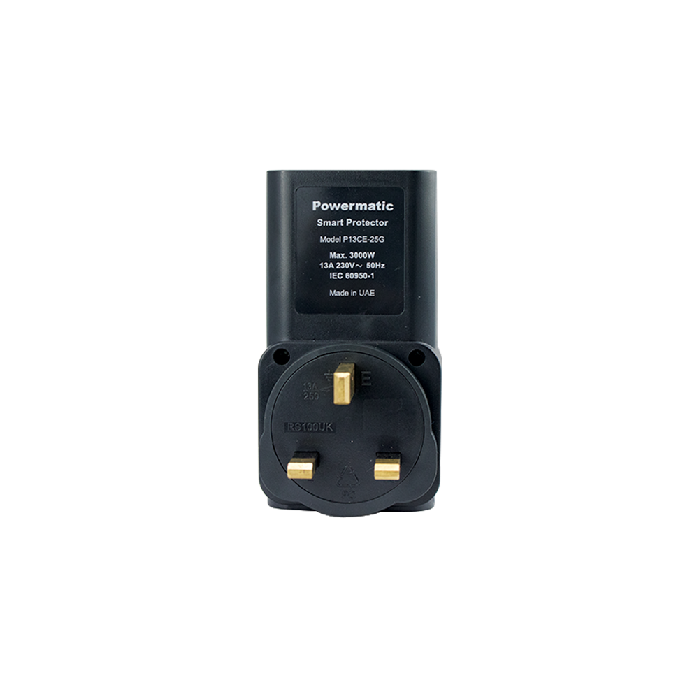13 Amp Electronics Protection UK-Type Adapter
