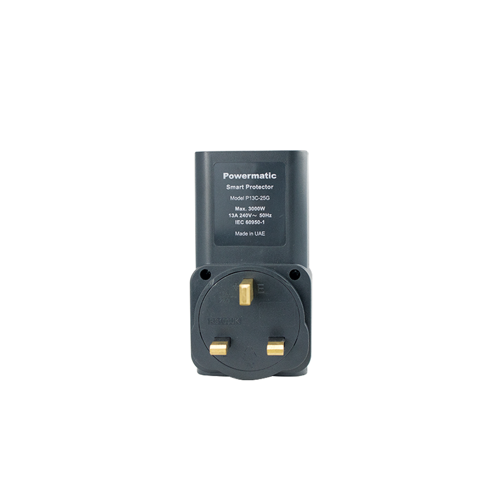 13 Amp Electrical Protection UK-Type Adapter