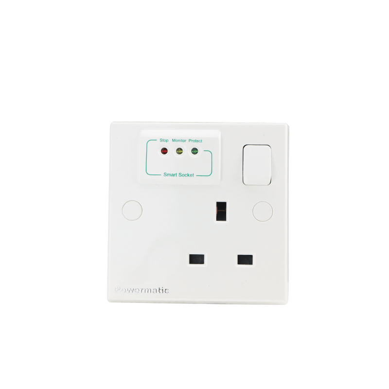 13 Amp Electronics Protection UK-Type Socket