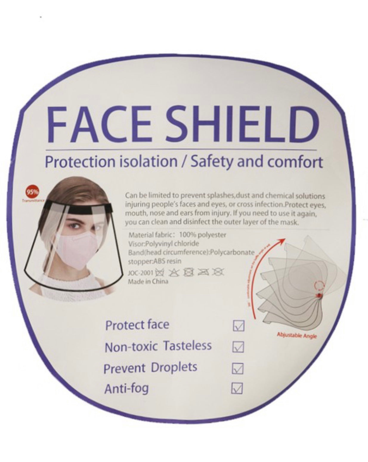Stay Safe Face Shield
