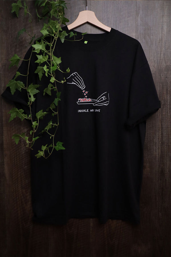 Inhale Shirt - Black