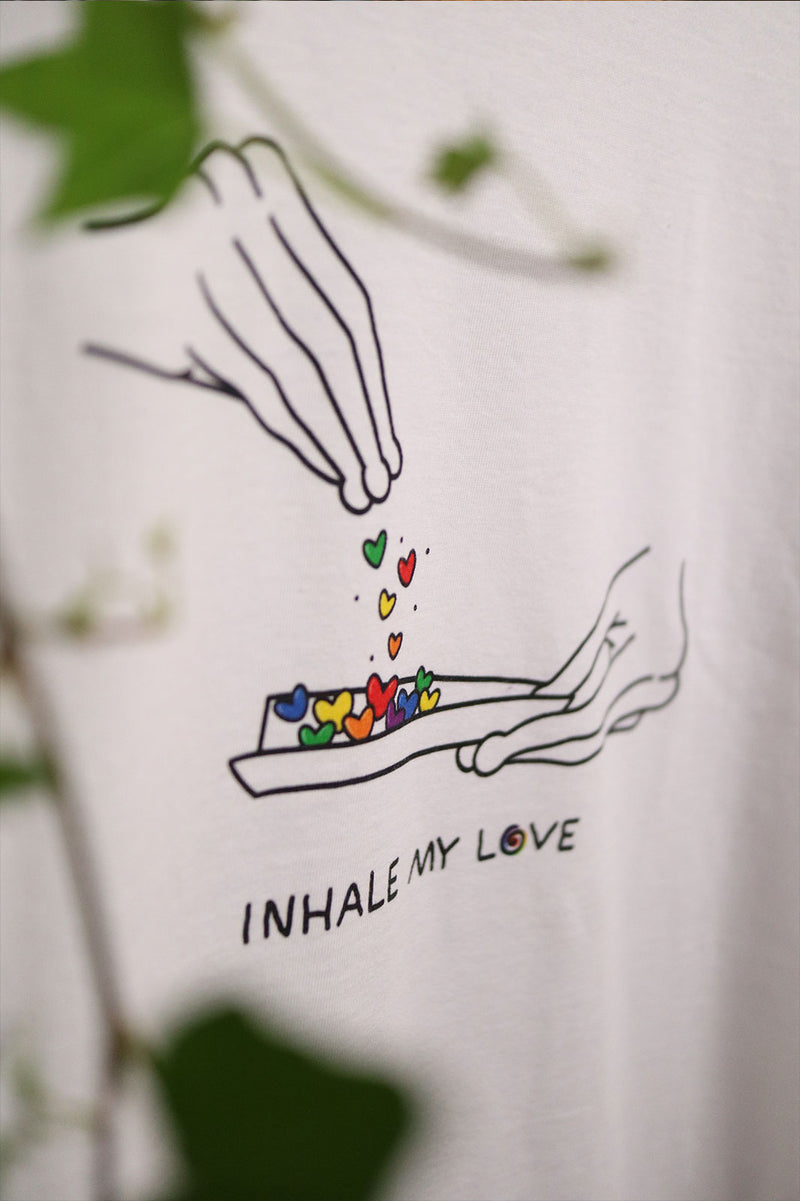 Inhale PRIDE - White