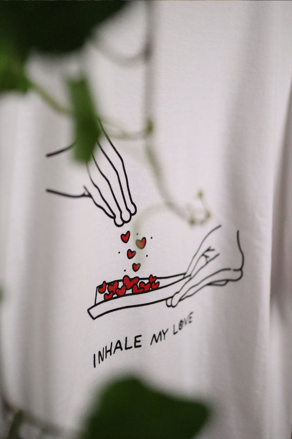 Inhale Shirt - White
