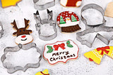 Christmas Cookies Cutting Molds (9 Pieces) - Christmas Cookies Cutting Molds