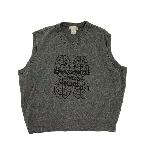 Decolonize Your Mind Sweater Vest